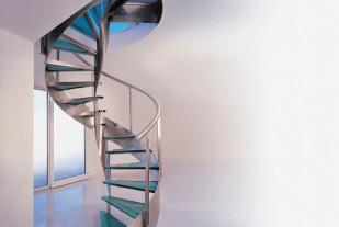 Металлическая маршевая лестница 6