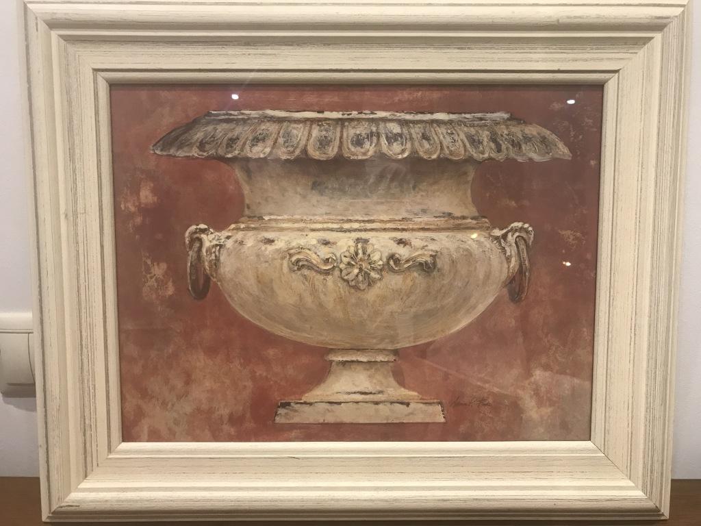 Картина c вазой F.A.L.L.Размер: 53 х 43 см.